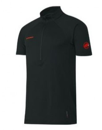 Atacazo ZipT-shirt Men Mammut Black