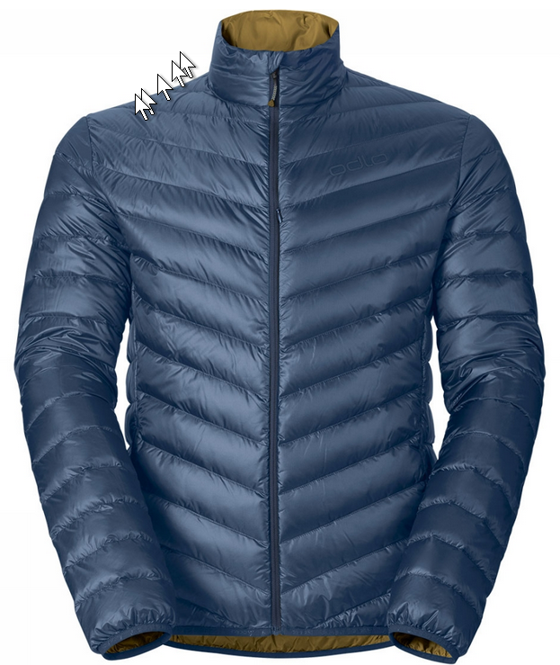 Air Cocoon jacket men Odlo