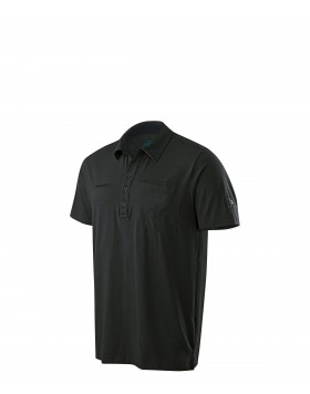 Mammut Chuck Polo Shirt Men Black
