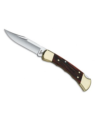 Buck 110 Folding Hunter Finger Grooved