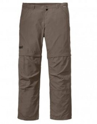 Canyon zip off pants men , grijs
