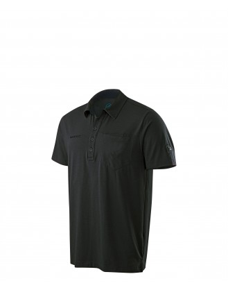 Mammut Chuck Polo Shirt Men Black