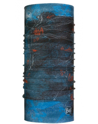 BUFF CAMINO SANTIAGO PENINSULA DENIM